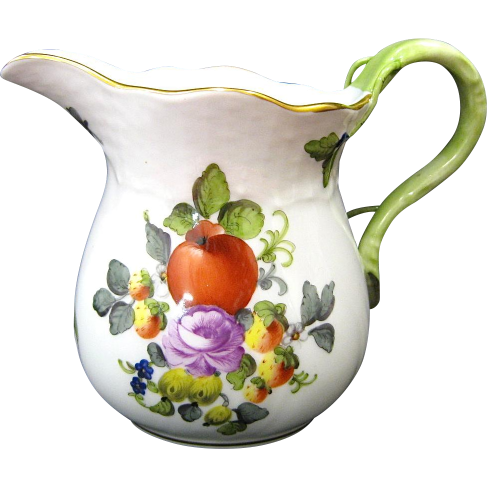 Herend Fruit and Flowers Creamer
