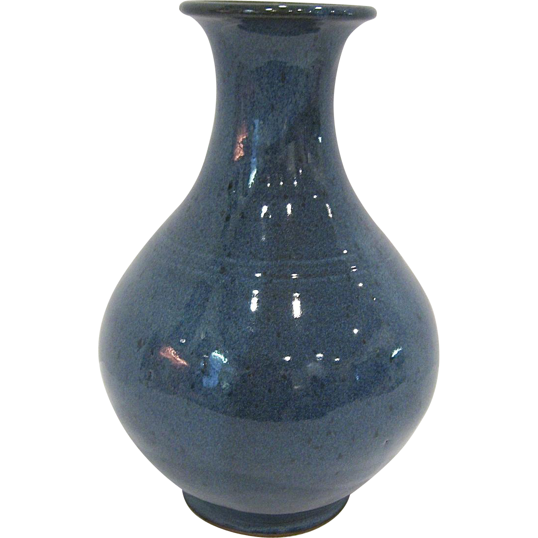 North Carolina Jugtown Vernon Owens Large Vase