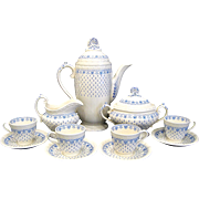 Copeland Spode Ermine Tea Coffee Set