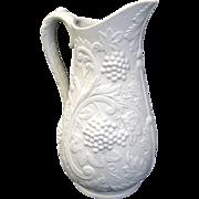 Portmeirion British Heritage Parian Porcelain Pitcher Jug