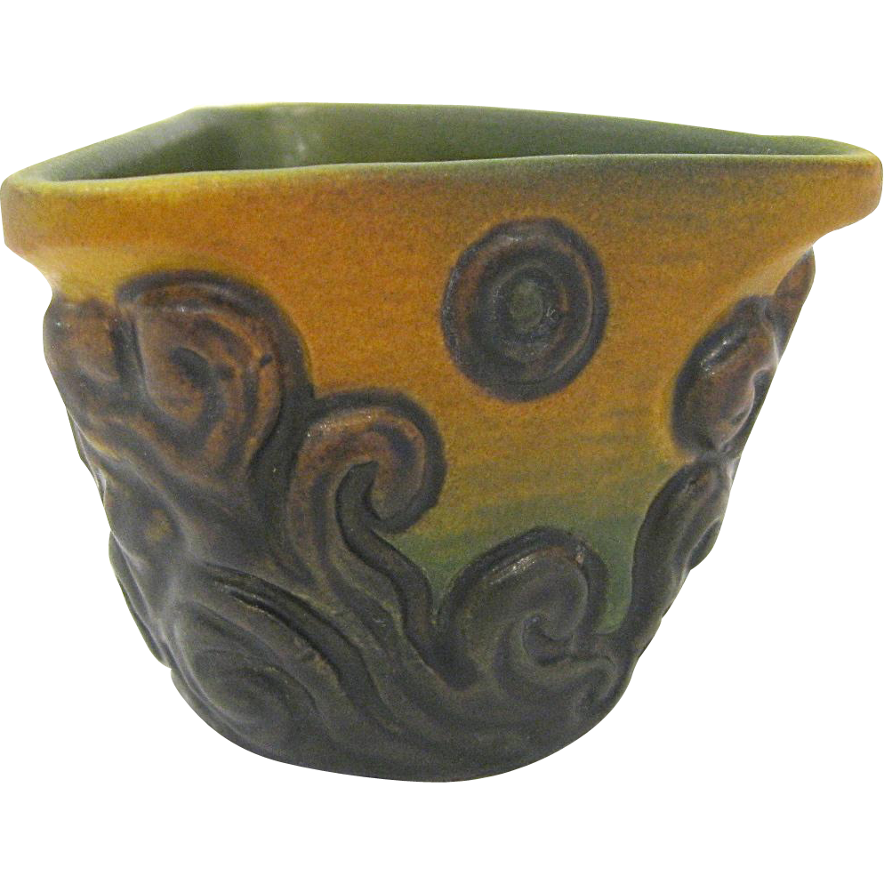 Early 20th Century Ipsen Denmark Art Pottery Vase