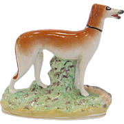 Early Staffordshire Whippet Greyhound