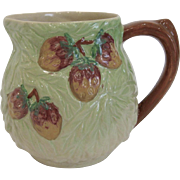 Vintage Shorter & Sons Acorns and Grapes Pitcher