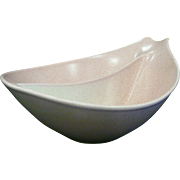 Monterey California Pottery Pink Speckled Swoop Bowl