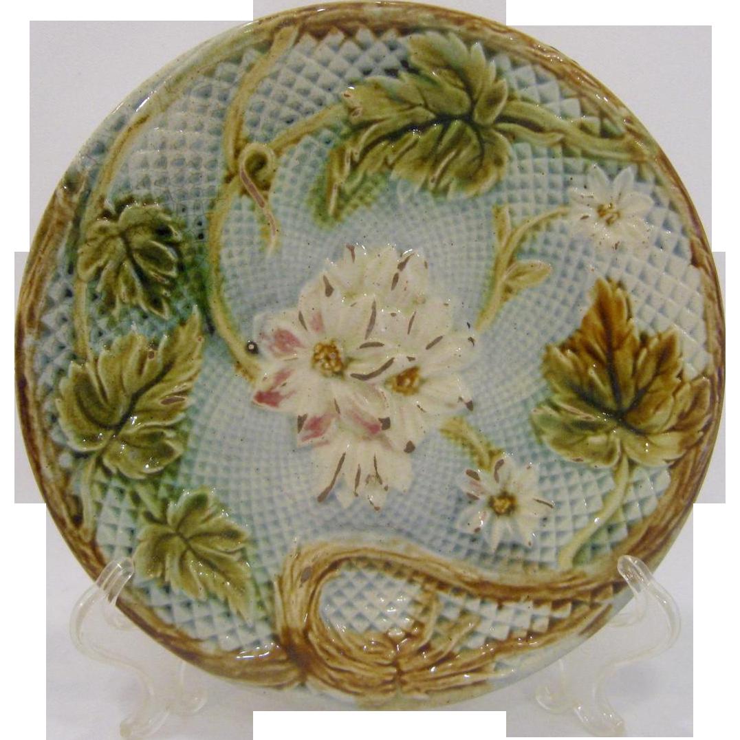 Haviland France Majolica Plate