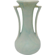 1940s McCoy Pottery Double Handle Vase