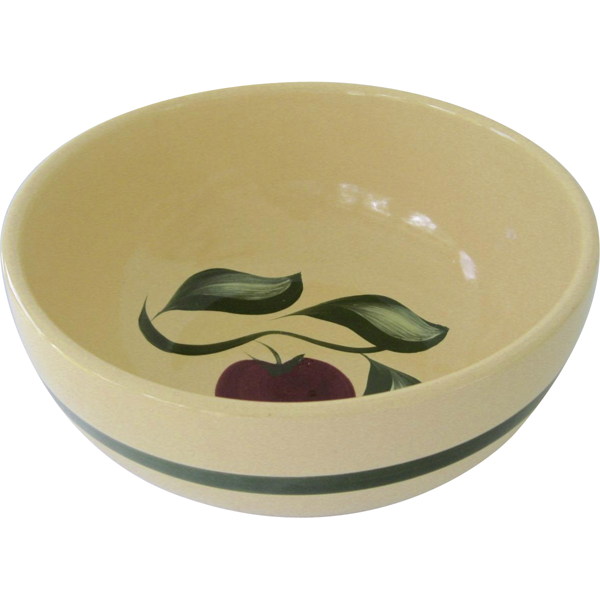 Watt Apple 3 Leaf Mixing Bowl