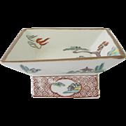 Vintage Occupied Japan Pedestal Dish