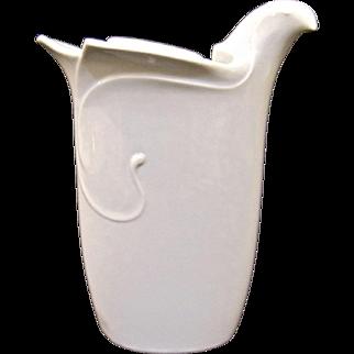 Mid Century Modern Dansk Dove Vase by Gunnar Cyren