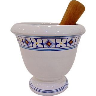 Vintage Mid Century Italy Mortar and Pestle