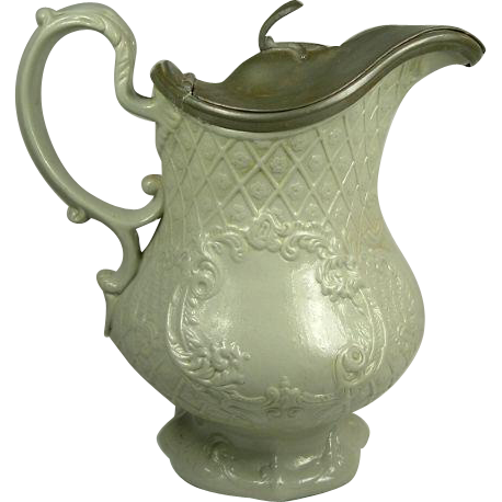 Antique Copeland Garrett Relief Molded Jug c. 1840