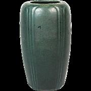 "Hampshire Pottery Matte Green 7 5/8"" Vase"