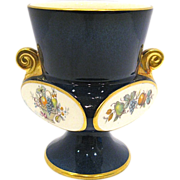Carlton Ware Double Handle Vase with Fruit