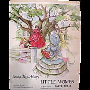 Uncut Little Women Paper Dolls