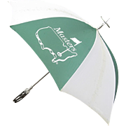 Vintage Masters Golf Umbrella with Seat