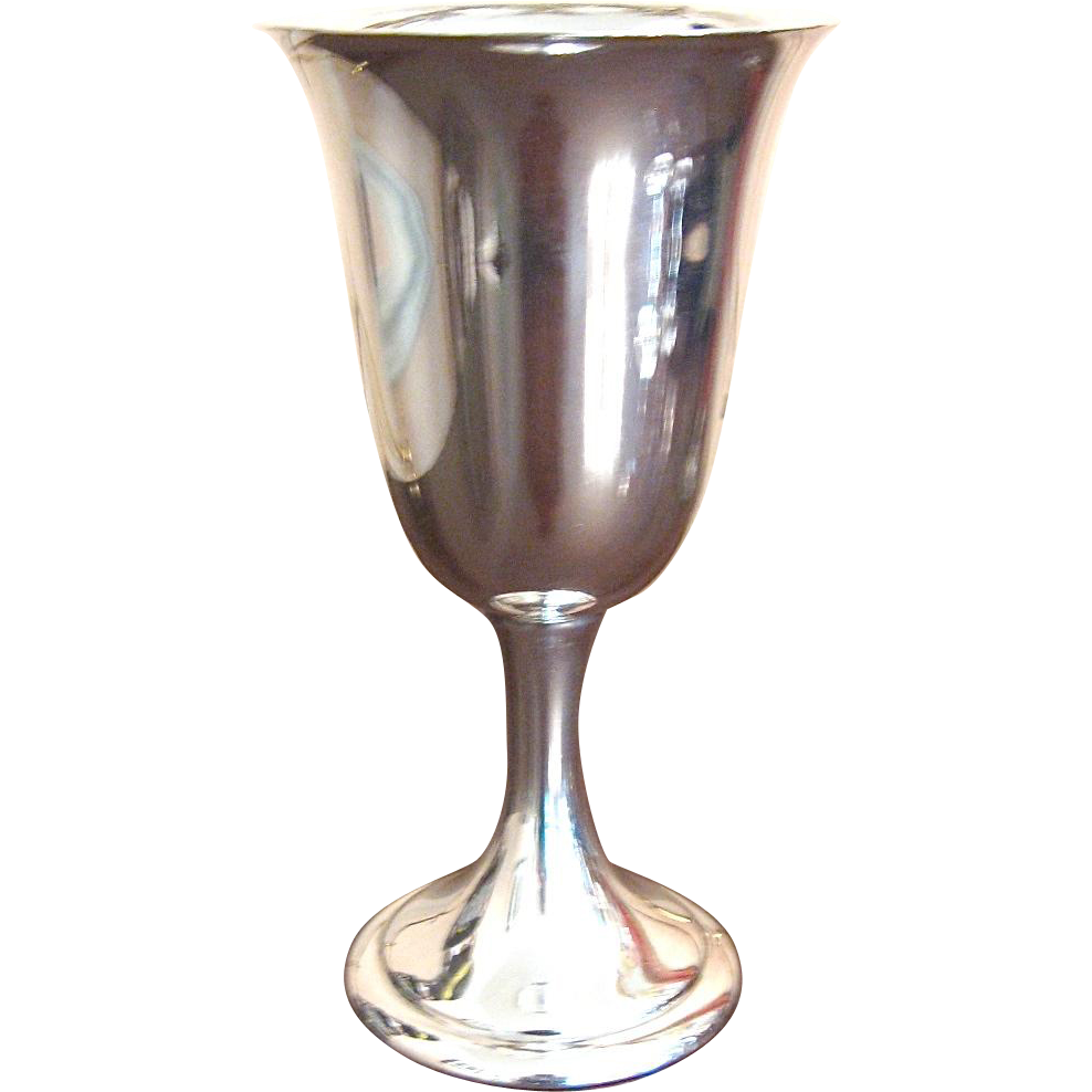Sterling Silver Goblet by Alvin