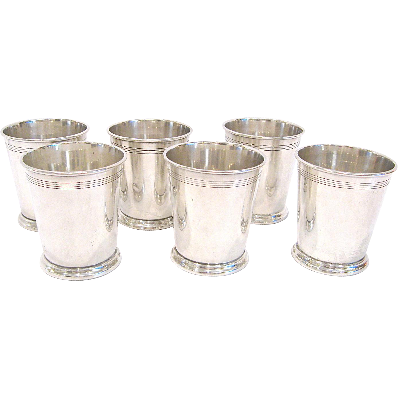 Set of 6 Reed & Barton Sterling Silver Juleps