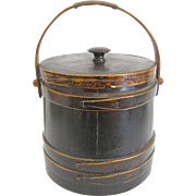 Vintage Firkin Sewing Bucket