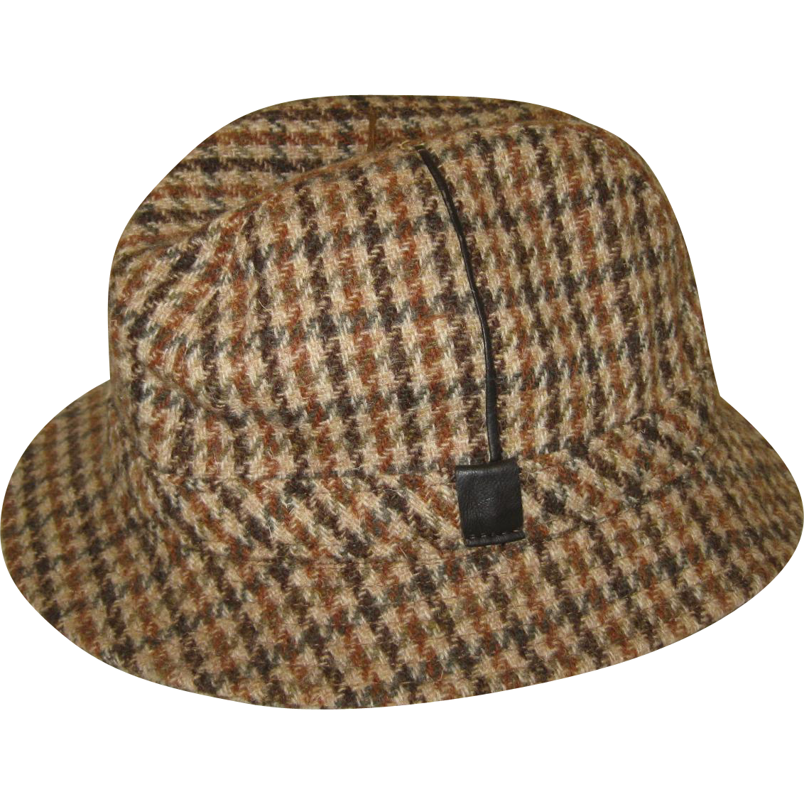 Men's English Elgin Trilby Wool Tweed Hat