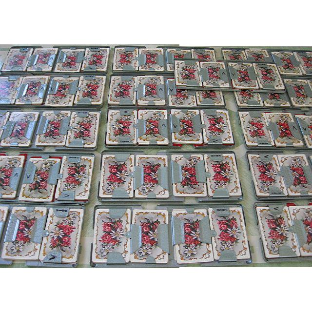Vintage Boxed Set 16 Duplicate Contract Bridge Boards & Cards