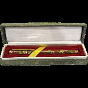 Vintage Cloisonne Ballpoint Pen