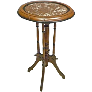 Small Marble Top Stand