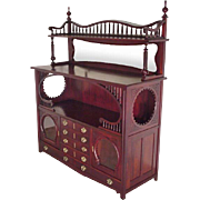 Mahogany Aesthetic Sideboard, Server, Victorian