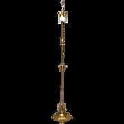 Brass Pole, Floor Lamp