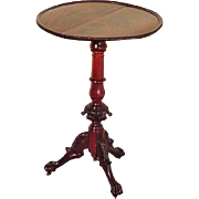 Chippendale Round Mahogany Stand, Lamp Table