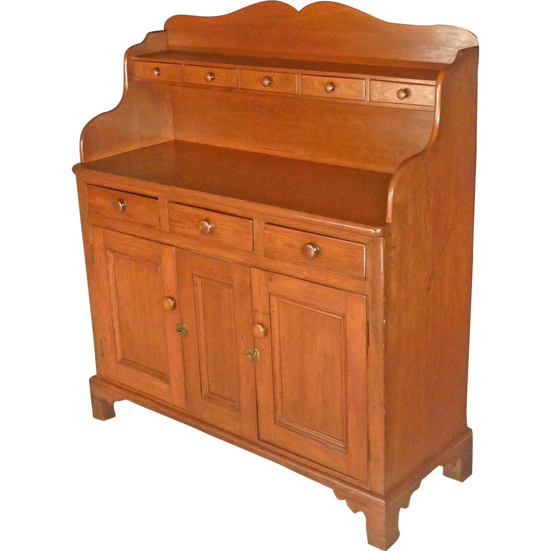 Early Pine Sideboard, Server, Cabinet