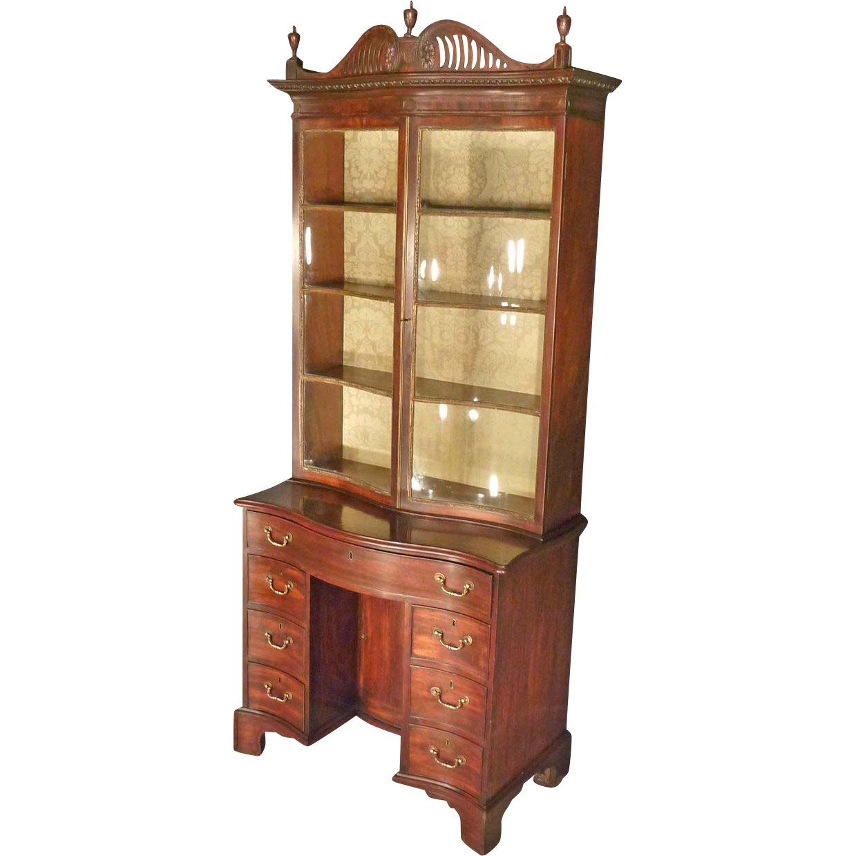 Classical, Georgian Bookcase, Secretary Desk