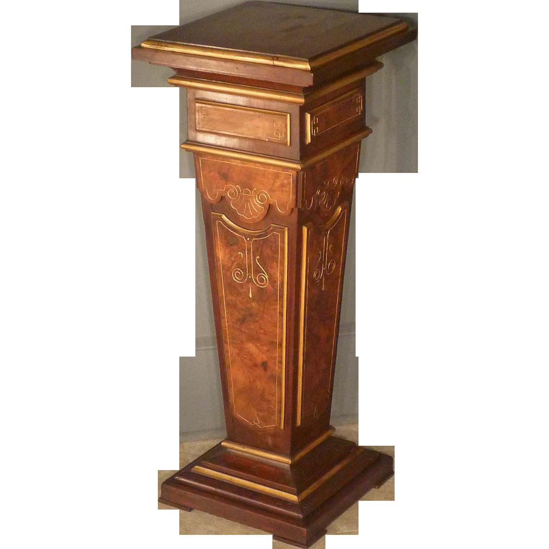 Victorian Renaissance Revival Pedestal