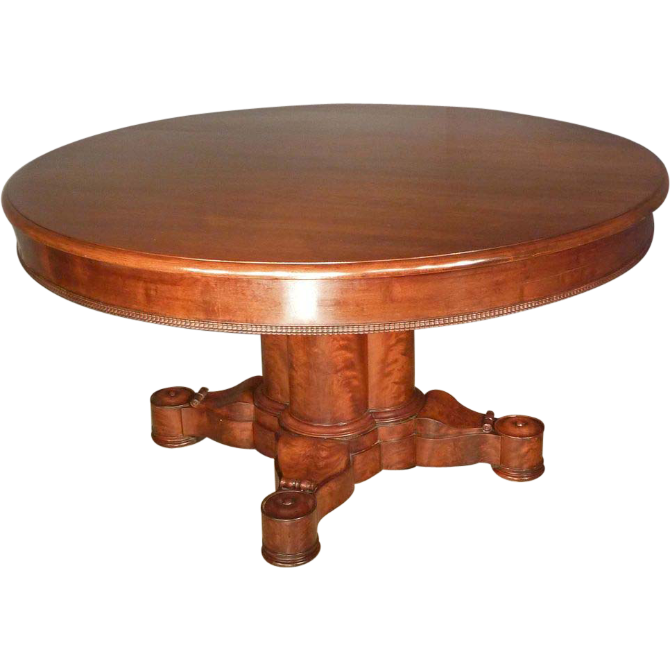 Empire classical center dining table from for Dining at at t center