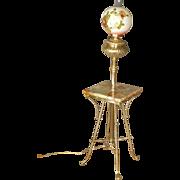 Victorian Piano Lamp, Floor Lamp