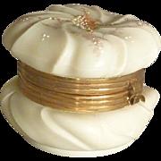 Small Wave Crest Dresser Jar
