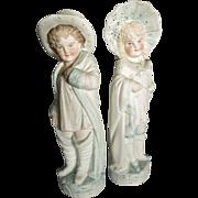 Pair of Victorian Figurines