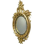 Early Convex Mirror with Cornucopias