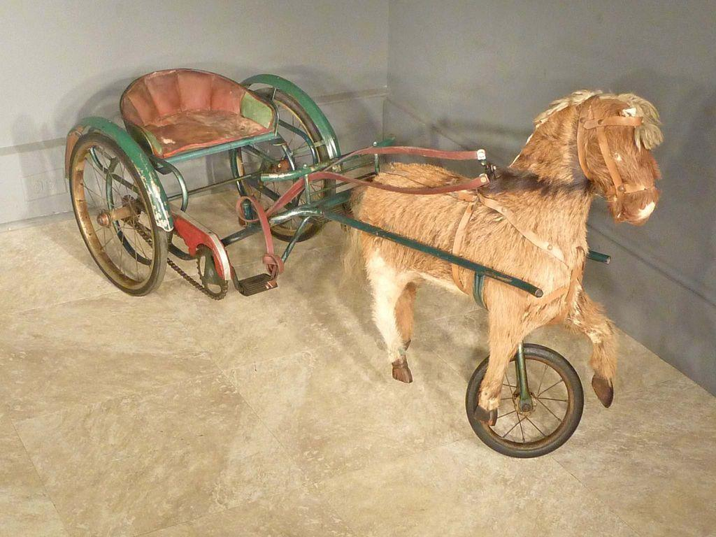 Child's Pony Pedal Cart From Antiquesonhanover On Ruby Lane