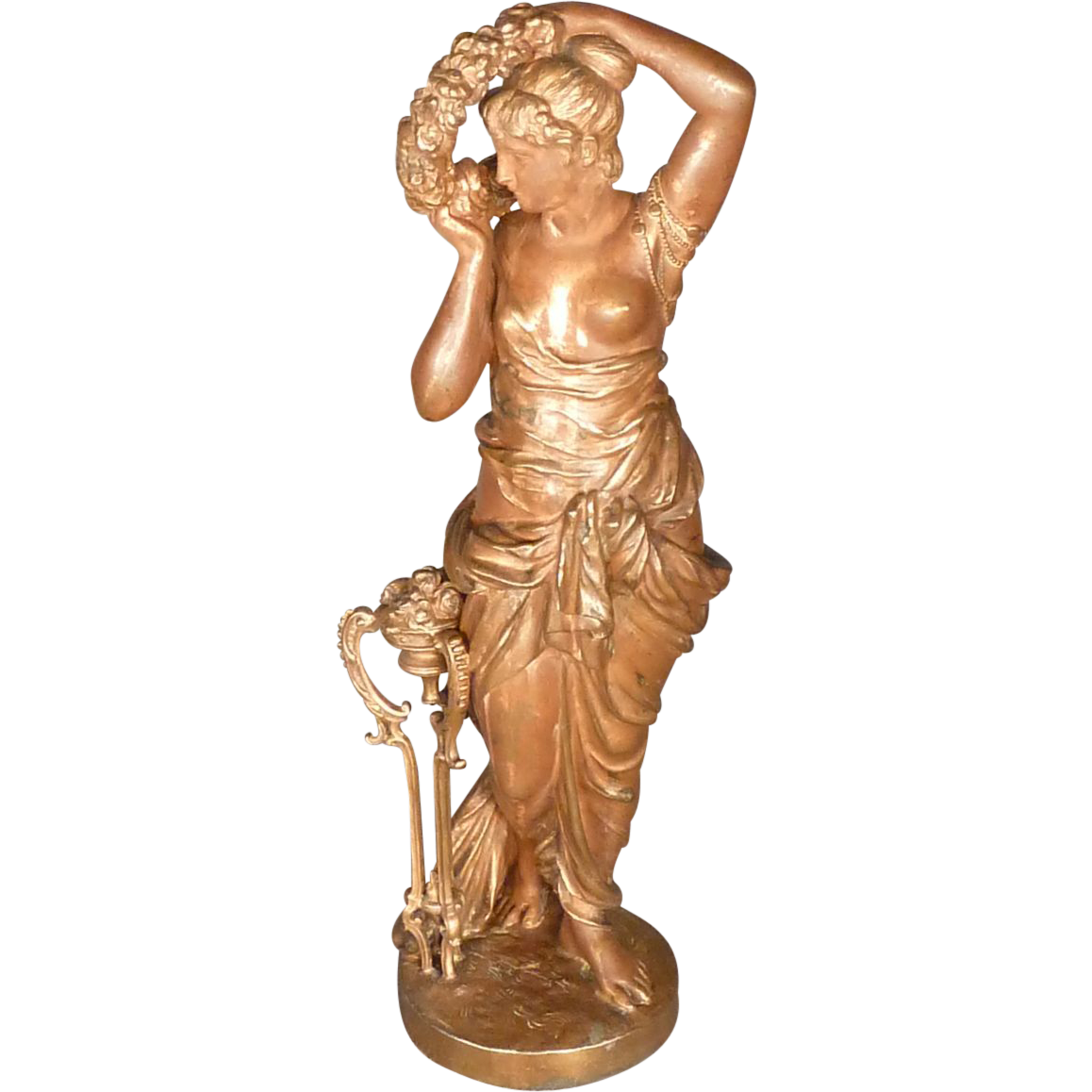 Grecian Classical Statue of Woman
