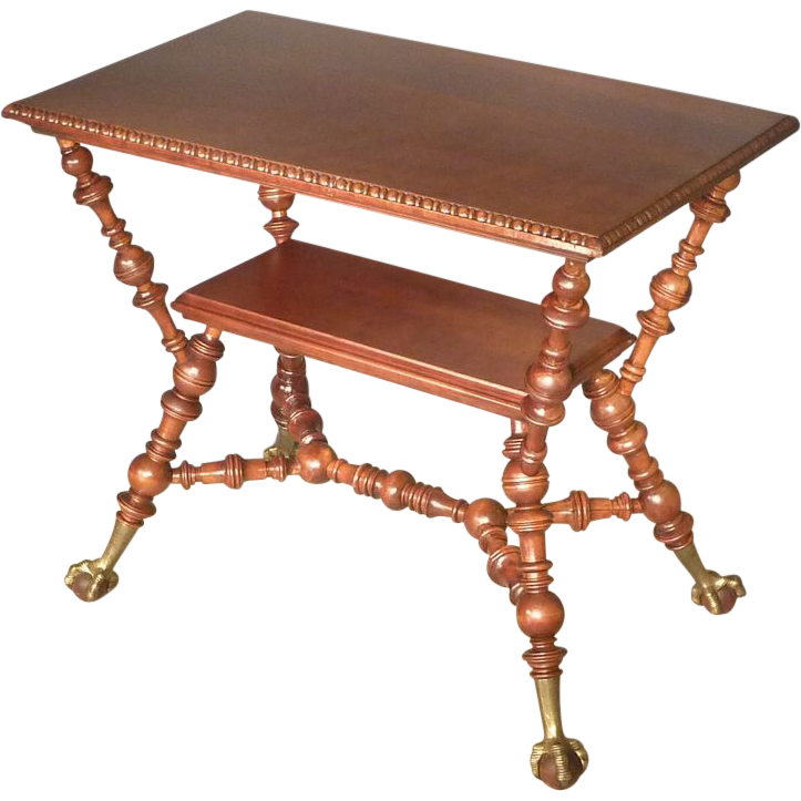 Aesthetic Victorian Cherry Table