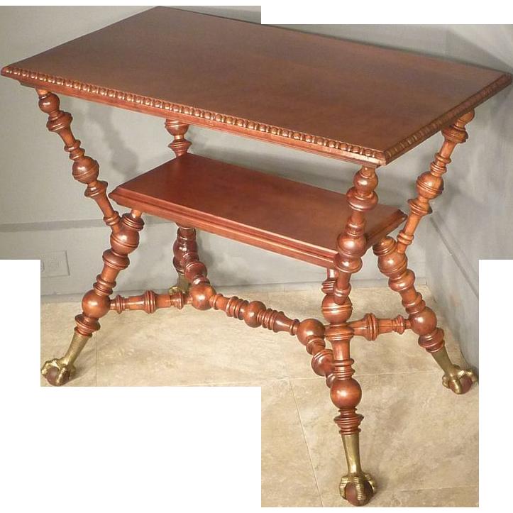 Aesthetic Victorian Cherry Table