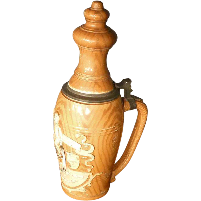 German Bowling Stein, Beer Mug