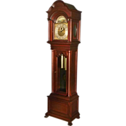 Mahogany Grandfather Clock by Herschede