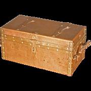 Hammered Copper Box, Handmade