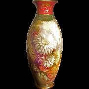 Royal Bonn Vase, Artist Signed