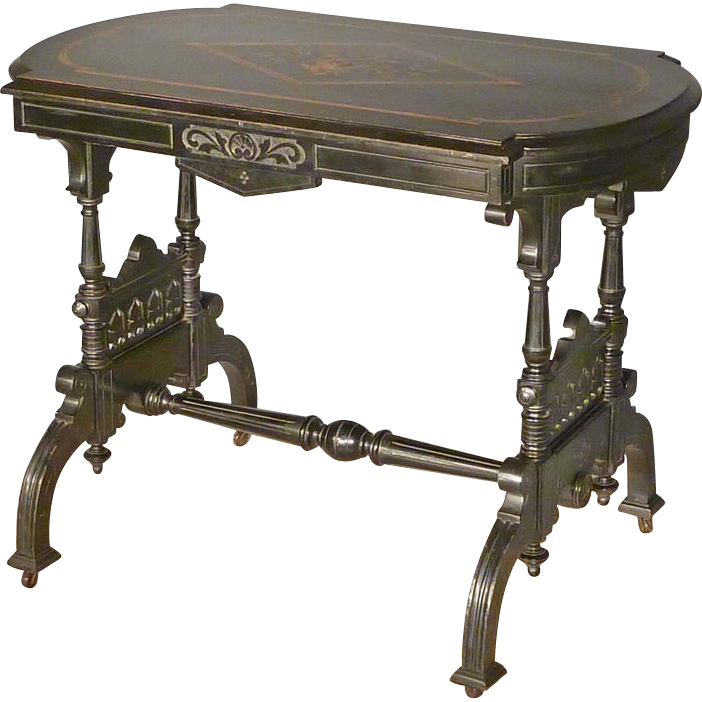 Aesthetic Ebonized Center Table