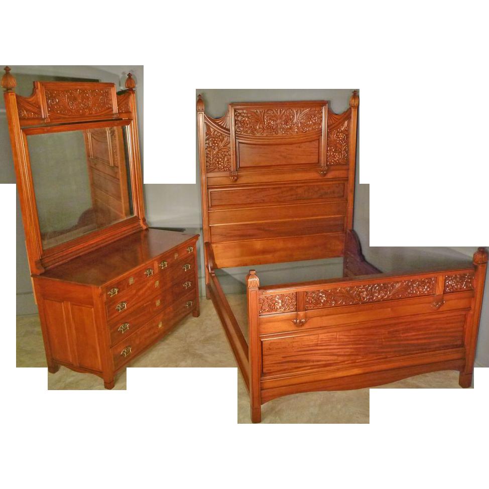 Victorian Bedroom Set, Queen/Full Size