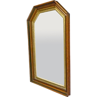 Walnut Hall or Dresser Mirror