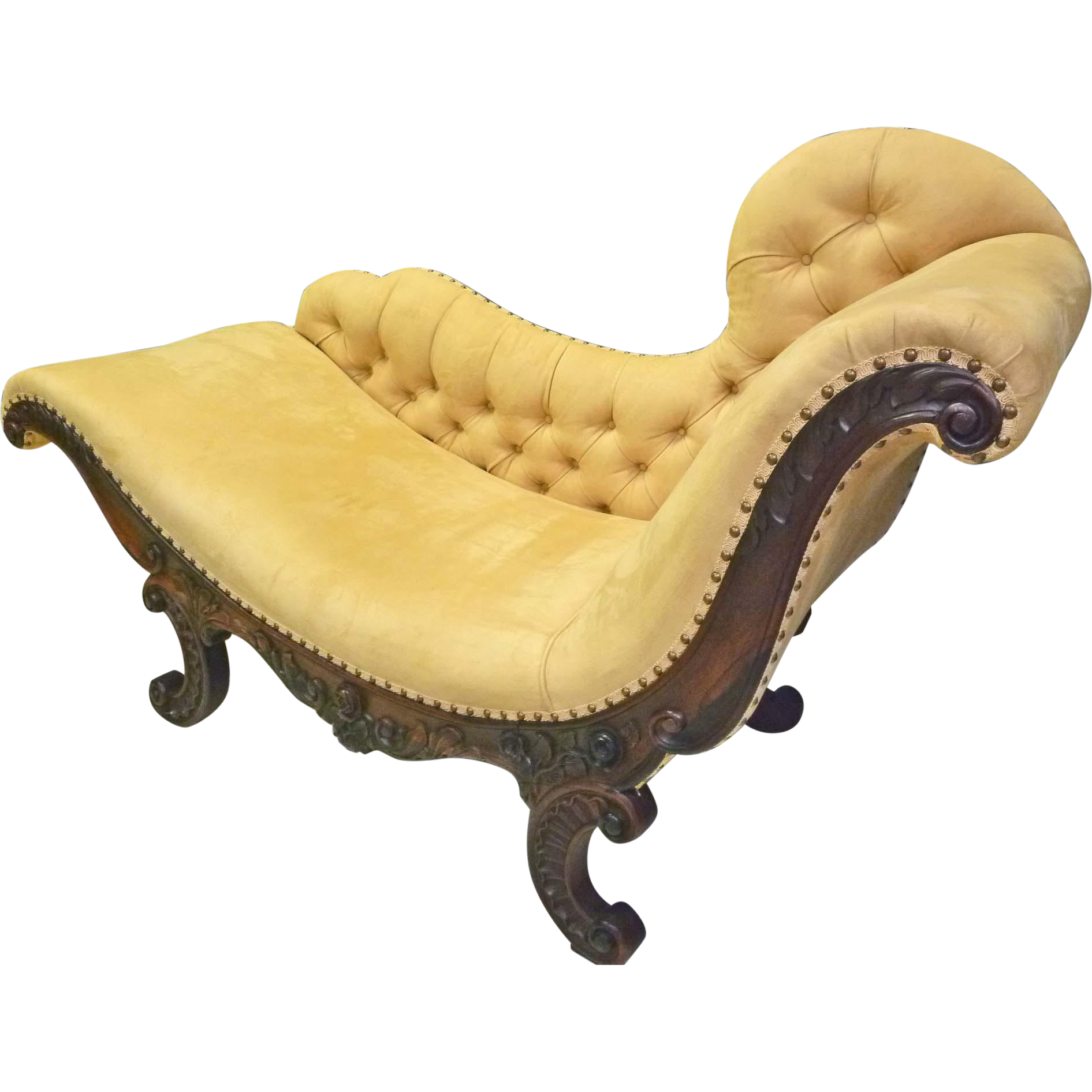 Victorian Chaise Lounge Or Fainting Couch Sold On Ruby Lane