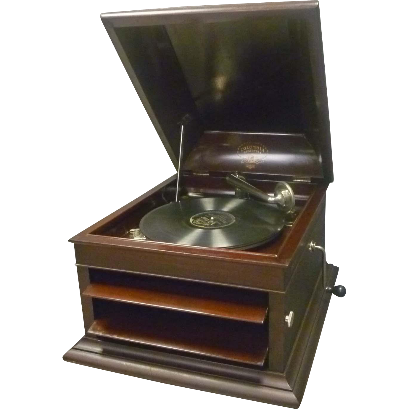 Columbia Grafonola Wind-up Record Player